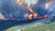 Costa oeste do Canadá entra em alerta contra incêndios florestais
