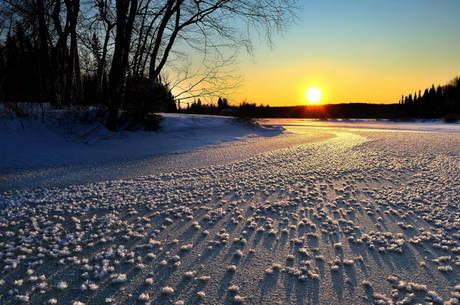 Termômetros marcaram -30ºC no Canadá