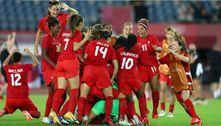 Tóquio 2020: Sem Brasil, veja como fica a semifinal do futebol feminino