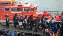 França resgata mais de 150 migrantes no Canal da Mancha