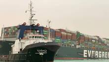 Entenda o caos causado pelo navio encalhado no Canal de Suez