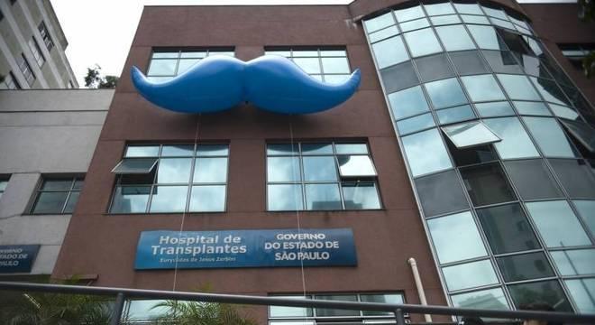 """O bigode é simbolo do """"Novembro Azul"""" campanha que ajuda a conscientização sobre a doença"""