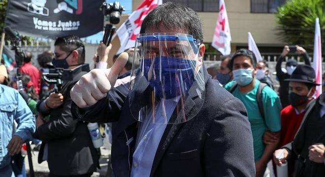 Andrés Arauz será candidato à presidência e Rafael Correa será seu vice