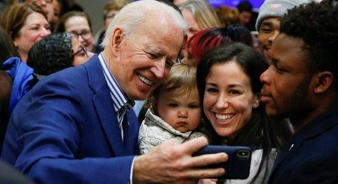 Joe Biden concorreu três vezes antes de obter uma vitória