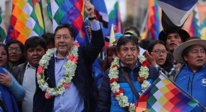 Luis Arce é candidato pelo MAS, partido do ex-presidente Evo Morales