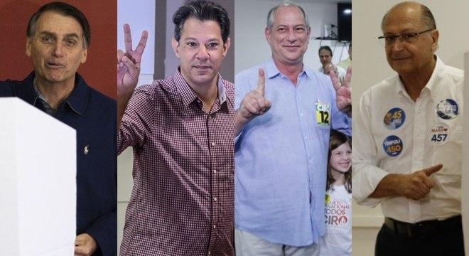 Primeiros colocados já votam no primeiro turno