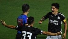 Vasco sai atrás, mas empata com o Boavista e avança na Copa do Brasil