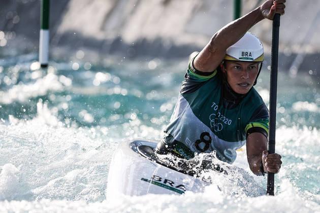 CANOAGEM:Ana Sátila ficou em 13º lugar na semifinal e não se classificou para a disputa de medalha do K1.