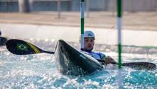Pepê Gonçalves erra 3 vezes e está fora da final na canoagem slalom