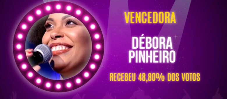 Débora Pinheiro venceu a primeira temporada do Canta Comigo, que chegou ao fim nesta quarta-feira (12), na Record TV