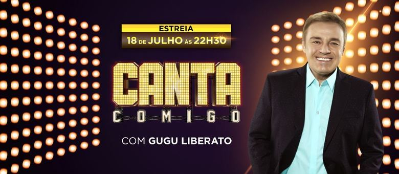 "Gugu Liberato apresenta ""Canta Comigo"""