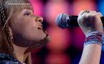 A capixaba Milena Blank, de 14 anos, veio para a competição para apostar em sua carreira musical e cantou um dos grandes sucessos da cantora Whitney Houston, I Wanna Dance With Somebody, e agitou os jurados!