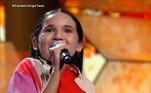 A manauara Nick Cristiny, de 15 anos, emocionou os 100 jurados do reality jurados ao cantar a música Por Enquanto, de Renato Russo, uma das maiores vozes da música brasileira, e foi direto para a final doCanta Comigo Teen
