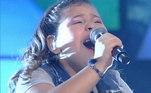 Julia Rodrigues, de apenas 9 anos, soltou a voz com a música tema da animação Moana, da Disney. Julia cantou Saber Quem Sou e assumiu o primeiro lugar no top 3, e ganhou um lugar na semifinal da competição musical