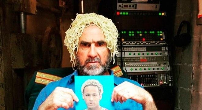 A ironia de Cantona se espalhou pelo mundo. Ataques ao futebol e ao visual