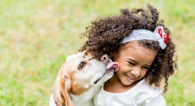 cão com dono
