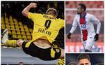 As quartas de final do maior torneio de clubes do mundo chegaram! Nessa edição de Champions League, não são poucos os que brigam pela artilharia. Nomes como Haaland, Neymar e Giroud estão nas cabeças dessa lista de craques. Confira!