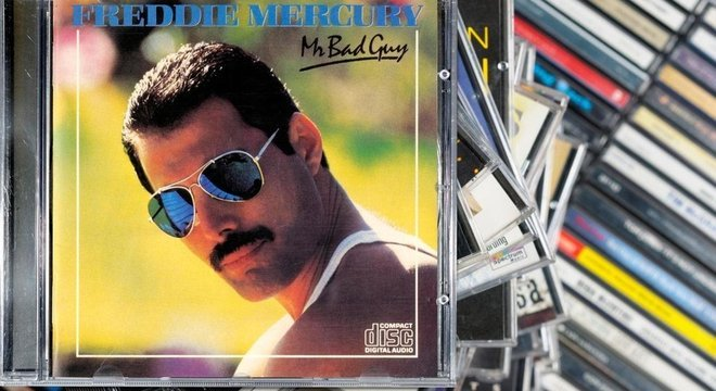 O álbum de 1984 'Mr. Bad Guy' foi o único LP solo de Mercury
