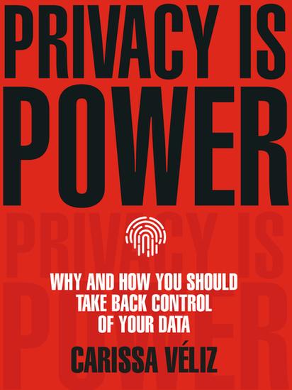 O livro 'Privacidade é poder' foi lançado em setembro no Reino Unido