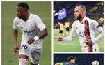 As atuações de Vini Jr (Real Madrid), Neymar e Marquinhos (ambos do Paris Saint-Germain) foram destaque nessa semana de quartas de final da Champions League. Tanto que os três brasileiros foram eleitos pela Uefa para a seleção ideal das quartas de final. Confira o time completo a seguir