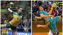 Handebol brasileiro chega forte para disputa do Pan-Americano de Lima (EFE/Secretaria Especial do Esporte)