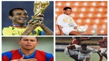 Veja ex-jogadores de futebol que enfrentam problemas financeiros (Montagem/R7)