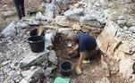 Segundo o tabloide britânico Daily Mail, a descoberta foi feita durante escavaçõesna encosta de uma montanha em Zakotarac, na península croata de Pelješac