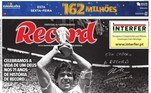 O Record de Portugal trouxe Maradona com a taça da Copa do Mundo e afirmou:
