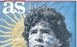 A morte de Maradona, um dos maiores jogadores da história do futebol, repercutiu em jornais europeus, que lembraram o camisa 10 em suas capas, nesta quinta-feira (26). Confira a seguir:O jornal As da Espanha publicou