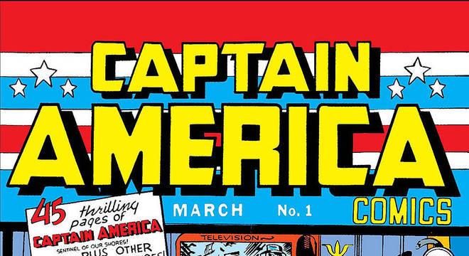 Capitão América dá um soco em Hitler