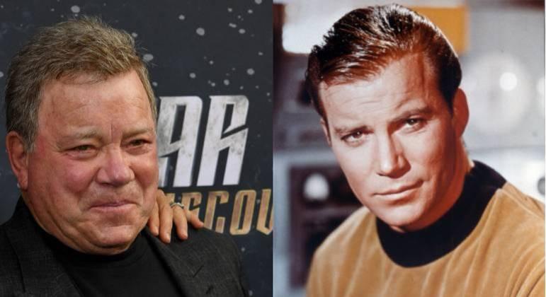William Shatner, ator que interpretou o capitão Kirk na série 'Star Trek'