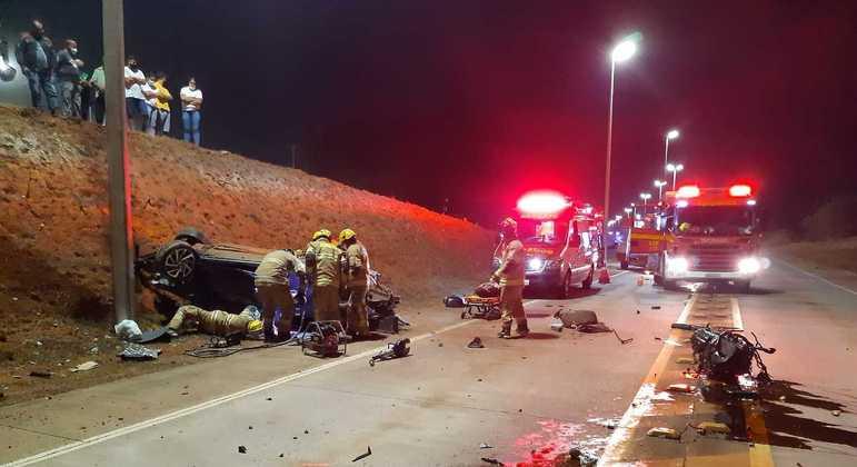 Mortes em acidentes de trânsito em SP tem redução entre janeiro de 2015 e agosto de 2021
