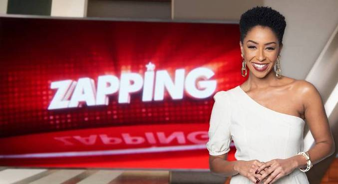 Mariana Bispo estreia como apresentadora do Zapping