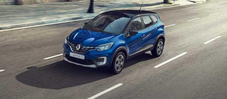Captur na Rússia estreia nova cor azul e versão Edition One com novo motor 1.3 turbo de 150cv