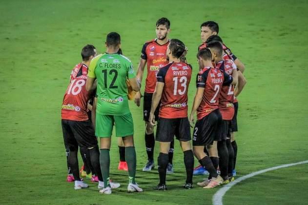 Caracas: 4º colocado do Campeonato Venezuelano - Entra na primeira fase do torneio.