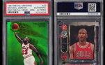 Em 2019, o craque teve um card fabricado em 1997 por R$ 1,9 milhões. A figurinha da série 'Precious Metal Gems', tem um fundo verde e foi feita apenas dez exemplares, Além disso, ela tem uma imagem do astro da NBA fazendo uma cravada