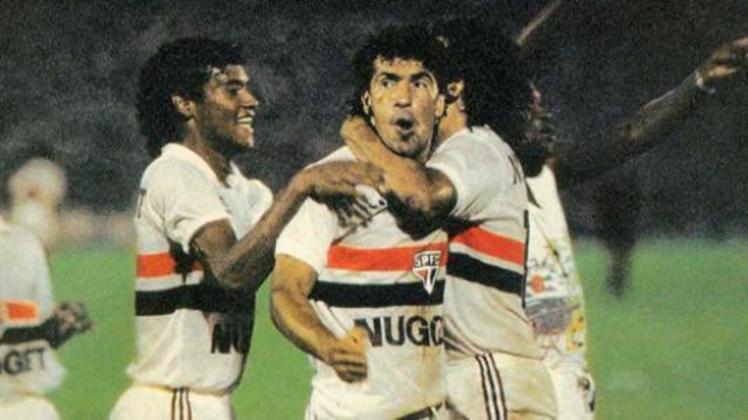 Careca: 23 gols em 1985 - O histórico atacante brasileiro foi peça fundamental na campanha do título estadual do Tricolor no ano de 1985, com 23 gols marcados.