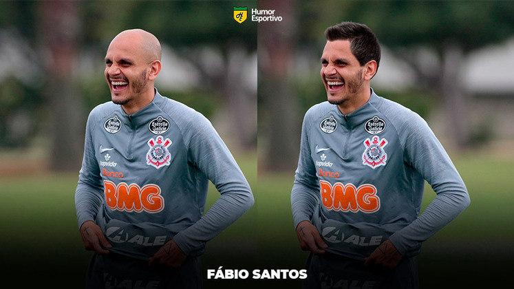 Carecas cabeludos: Fábio Santos, lateral do Corinthians