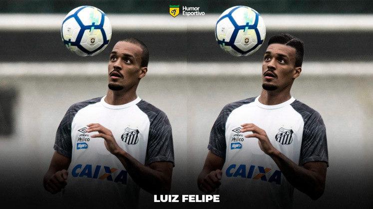 Carecas cabeludos: Luiz Felipe, zagueiro do Santos