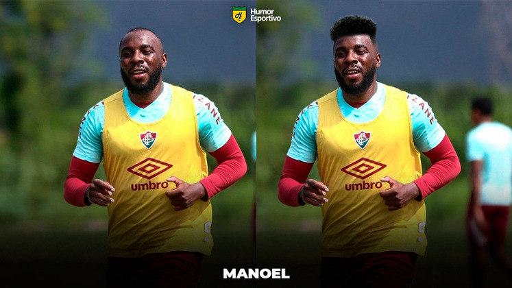 Carecas cabeludos: Manoel, zagueiro do Fluminense