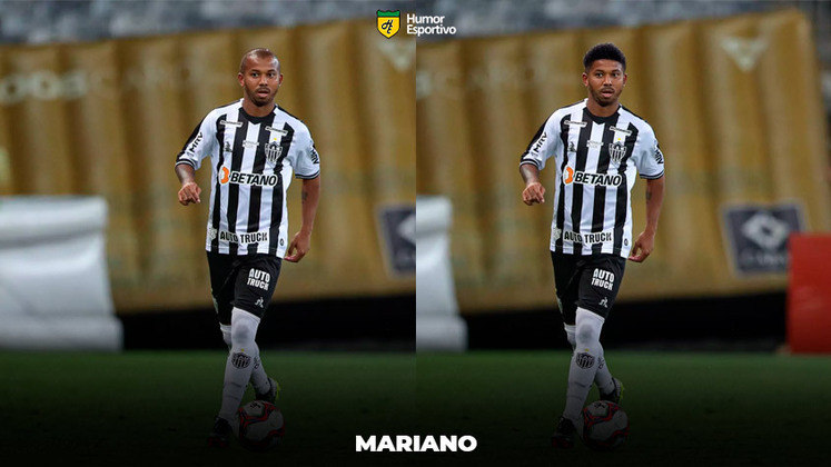 Carecas cabeludos: Mariano, lateral-direito do Atlético-MG