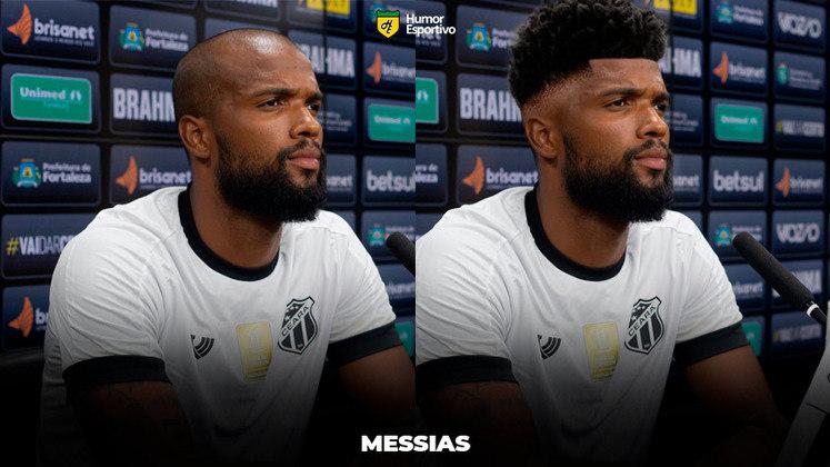 Carecas cabeludos: Messia, zagueiro do Ceará