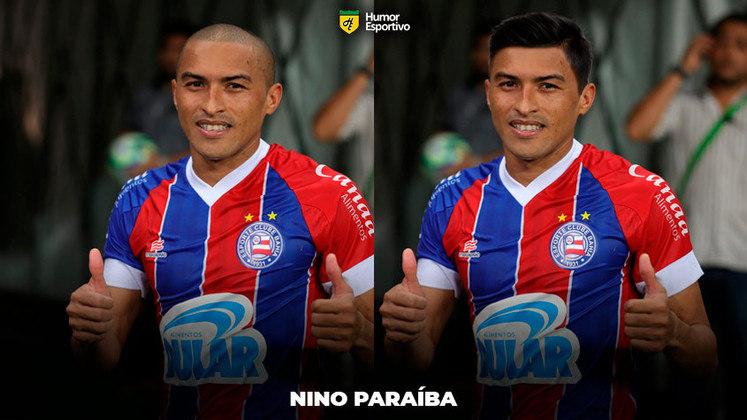 Carecas cabeludos: Nino Paraíba, atualmente jogador do Bahia