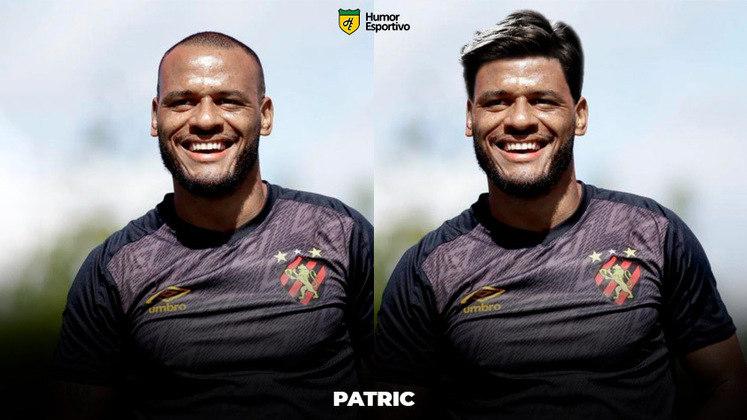 Carecas cabeludos: Patric, lateral que rescindiu com o Sport recentemente