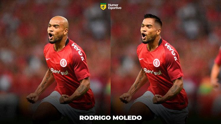 Carecas cabeludos: Rodrigo Moledo, zagueiro do Internacional