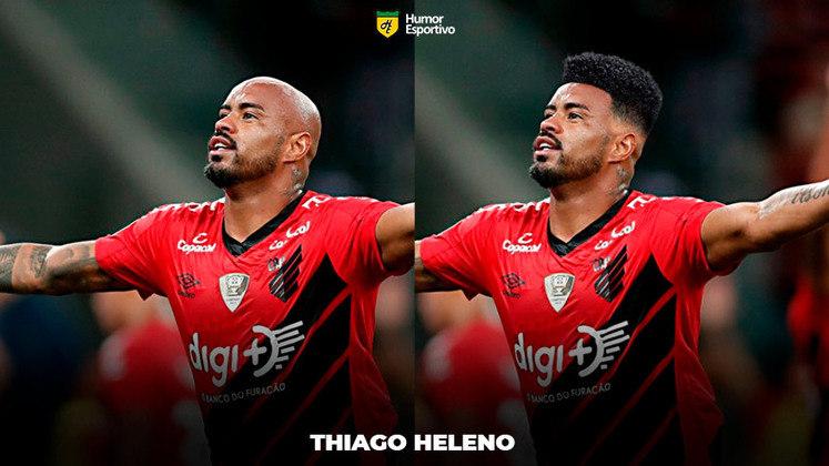 Carecas cabeludos: Thiago Heleno, zagueiro do Athletico Paranaense
