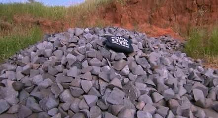 50 toneladas de ferro gusa foram recuperadas