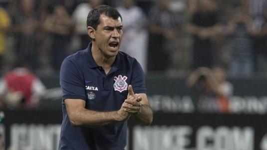 Carille foi o responsável pela classificação do Corinthians