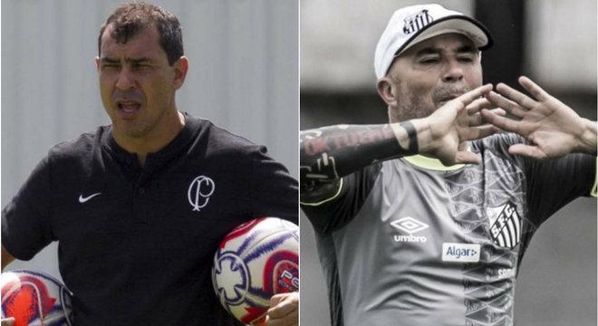 Carille e Sampaoli são as principais contratações de Corinthians e Santos
