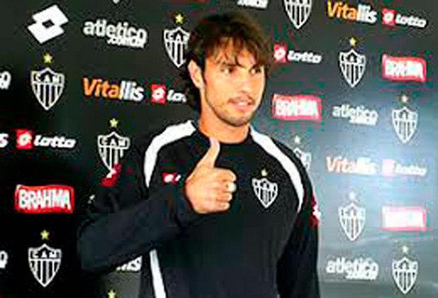 Carini - Sucessivas falhas marcaram o período do goleiro uruguaio Carini no Atlético-MG